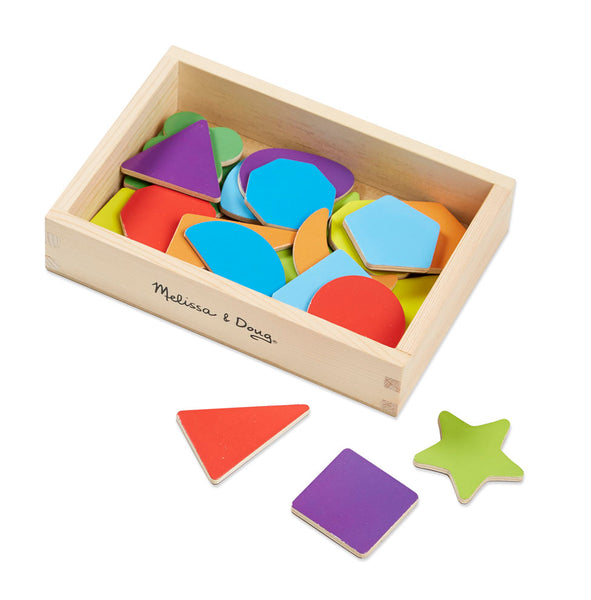 Melissa & Doug 25pc Shapes Magnets