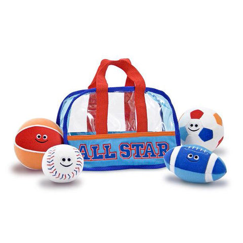 Melissa & Doug All Star Sports Bag, Fill and Spill