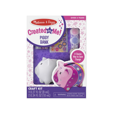 Melissa & Doug Created by Me! Piggy Bank