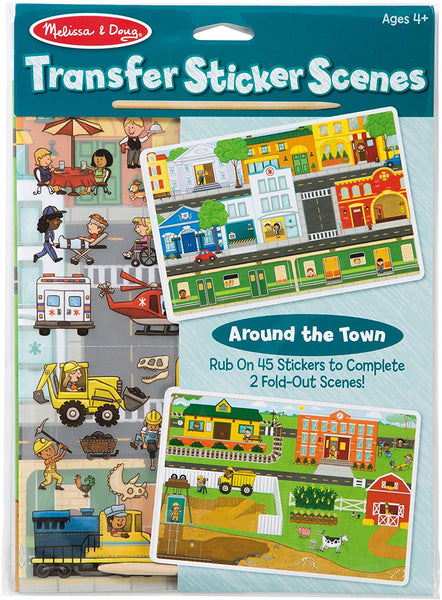 Melissa & Doug Transfer Sticker Scenes Around the Farm