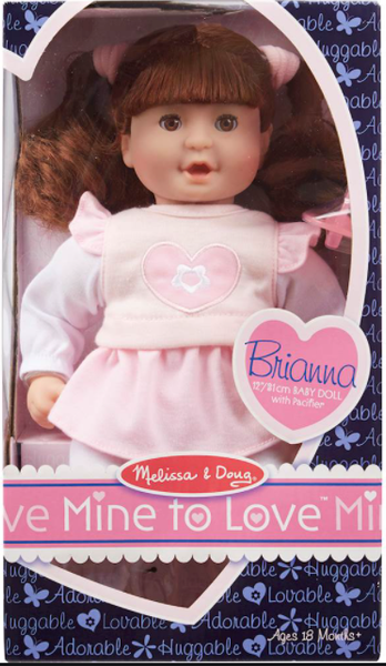 Melissa and Dough Mine to Love Brianna