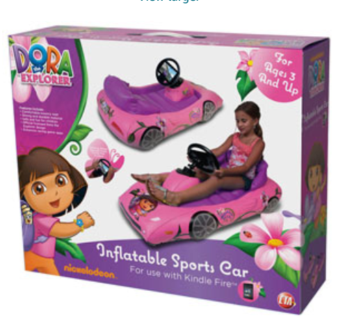 Dora the Explorer Inflatable Sports Car