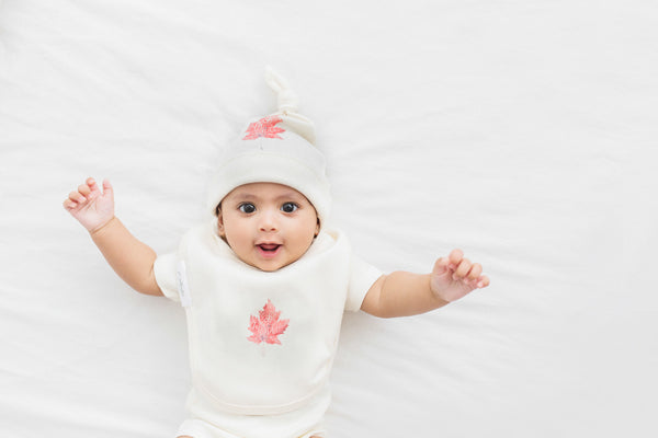 Organic baby clothing first launch