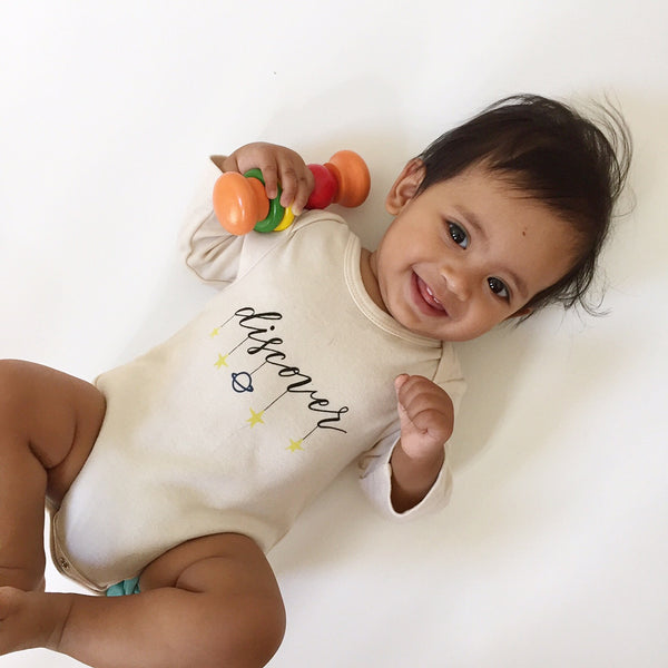 Adventures Await Organic Baby clothes mini collection launch