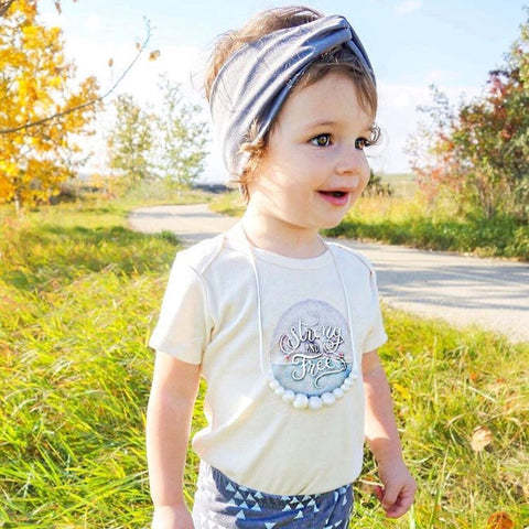 Strong Free Organic Cotton Onesie