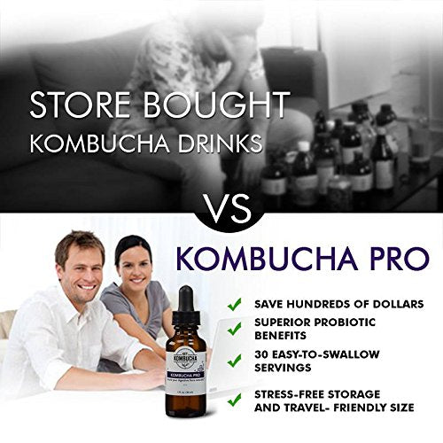 Kombucha Probiotics Cold Pressed Culture Extract