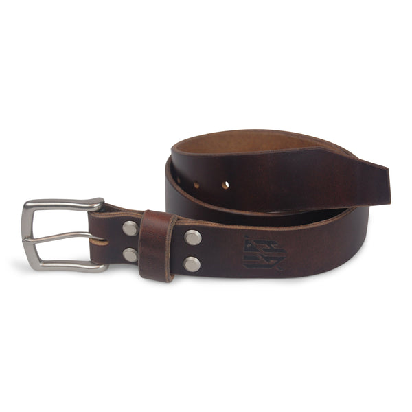 Horween Leather Belt -Havana Brown
