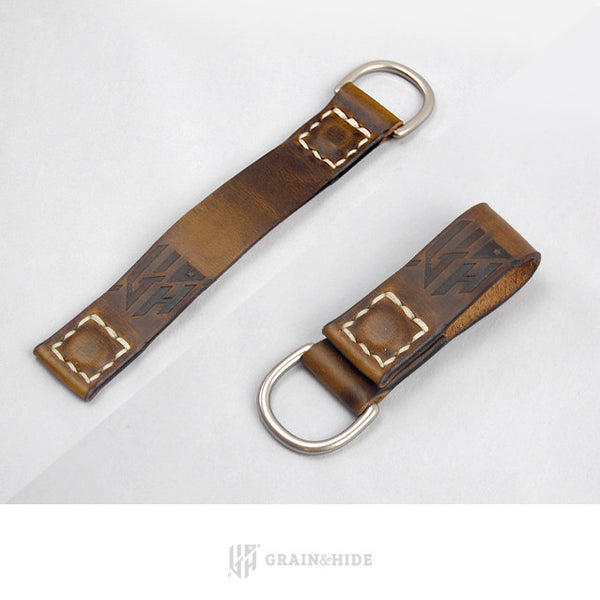Horween Chromexcel Magnetic Key Chain