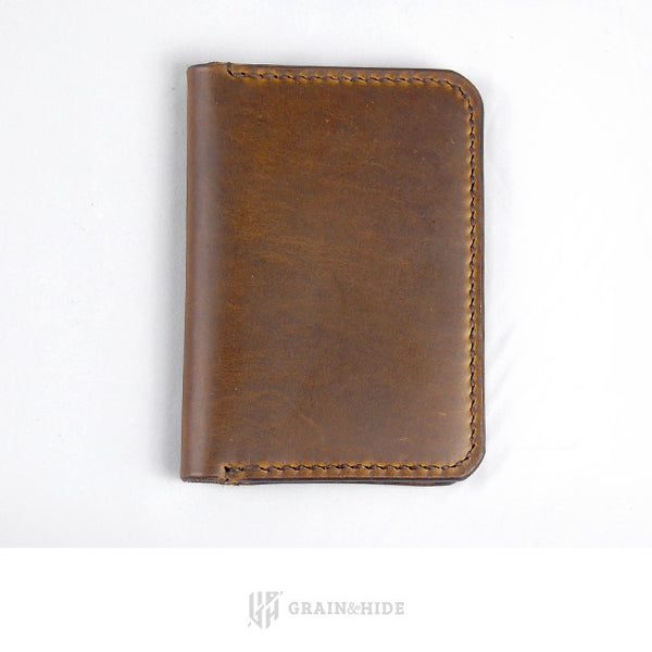 Horween Chromexcel Color #25 Passport Case Closed