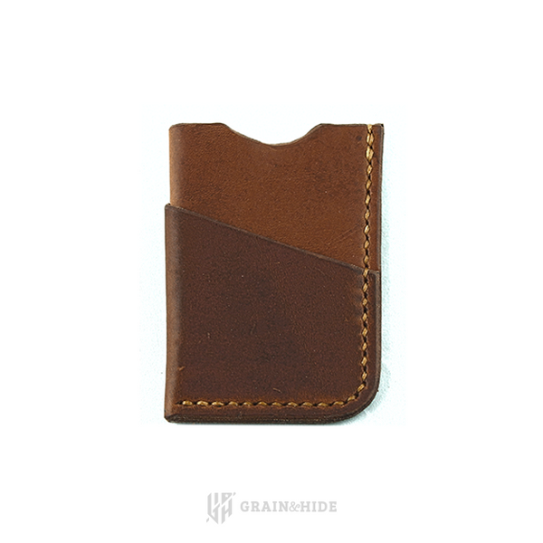 Horween English Tan Dublin Leather Wallet