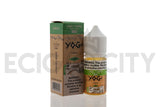 Green Apple ICE SALT by Yogi Farms | 30mL Green Apple Menthol Salt Nicotine E-Juice - eCig-City | ECC