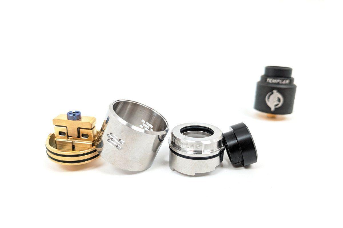 Augvape Templar RDA | 24mm Cross Clamp Style Rebuildable Dripping Atomizer-ECC Ecig-City