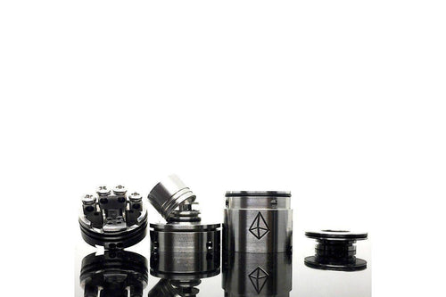 Disassembling the Chrysalis v2 RDA by Aethertech | Rebuildable Drip Atomzer-ECC Ecig-City
