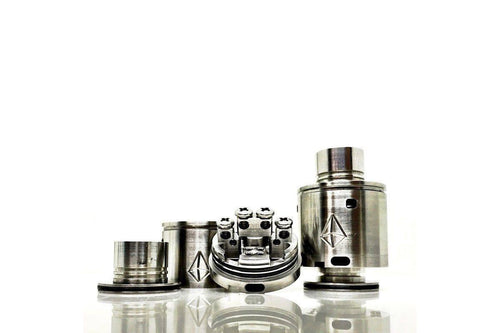 4 post build deck on Chrysalis v2 RDA by Aethertech | Rebuildable Drip Atomzer-ECC Ecig-City
