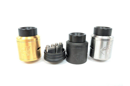 Goon V1.5 RDA in Gold, Black, and SS by 528 Custom | 24mm Rebuildable Atomizer-ECC Ecig-City