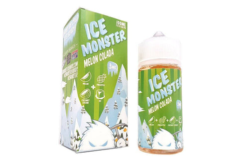 Melon Colada by ICE Monster | 100mL Fruit Menthol E-Juice