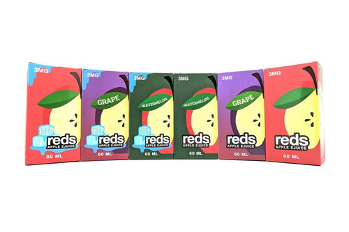 REDS MEGA BUNDLE by 7 Daze | Apple + Watermelon + Grape Flavors (360mL Total)