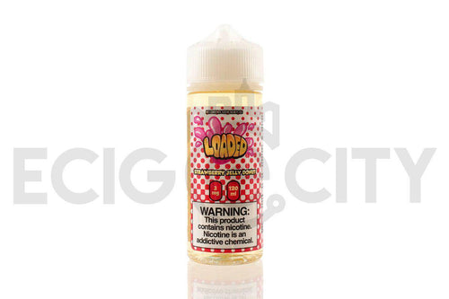 Strawberry Jelly Donut by Loaded | 120mL Fruit Pastry E-Juice