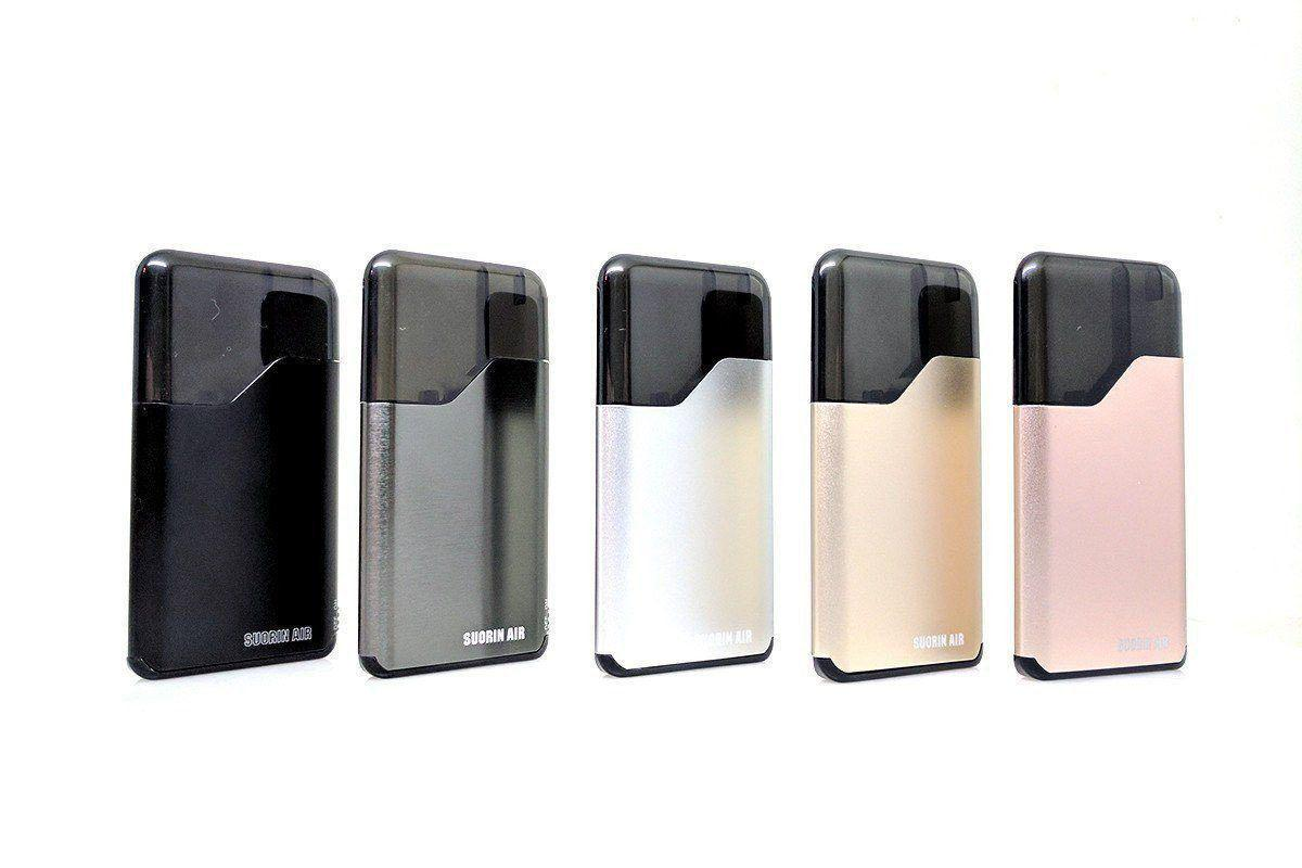 Suorin Air | All In One Mouth To Lung Starter Kit (All Colors Now In Stock)-ECC Ecig-City