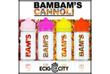 Wham Bam Bundle by Bam Bam's Cannoli | 4x100mL (400mL) Dessert E-Juice BUNDLE - eCig-City | ECC