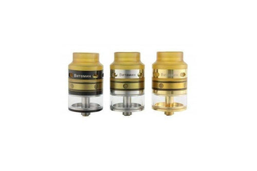 YStar Vitamin RDA | Genesis Style Rebuildable Atomizer (All Colors Now Available!)-ECC Ecig-City