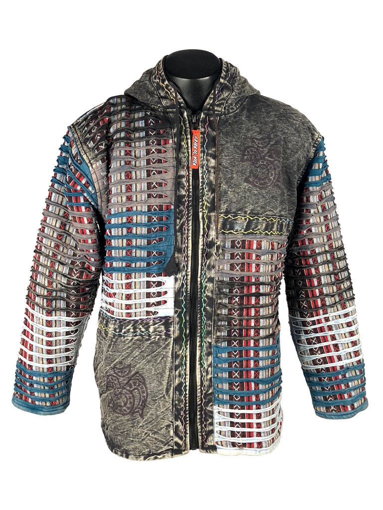 Printed Razor Cut Jacket