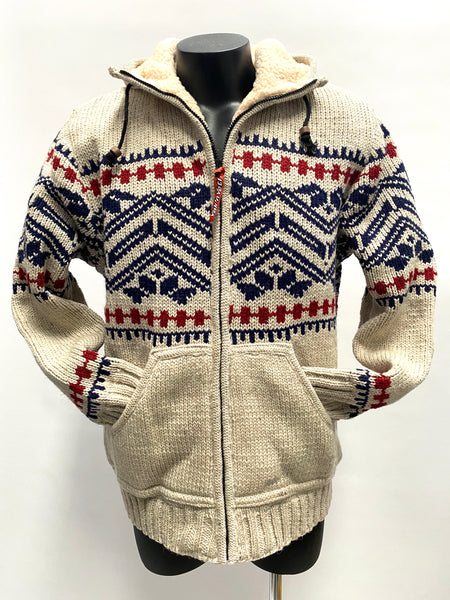 Fair isle Knit Jacket