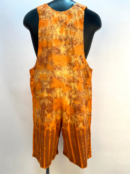 Short Tie Dyed overalls