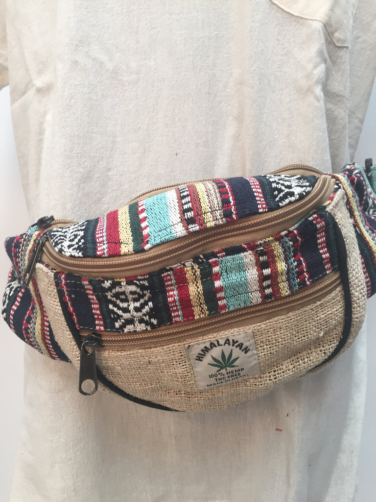 Bum bag Cotton and hemp