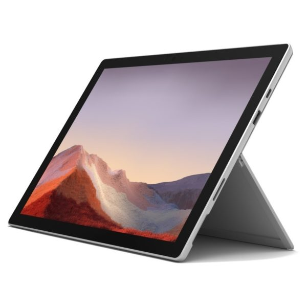 "Microsoft Surface Pro 7 / Intel i3 / 4GB RAM / 128GB SSD / 12.3"" touch display / Platinum"