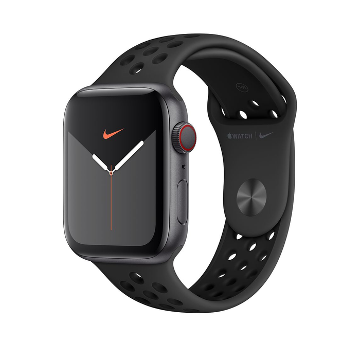 44mm Anthracite/Black Nike Sport Band
