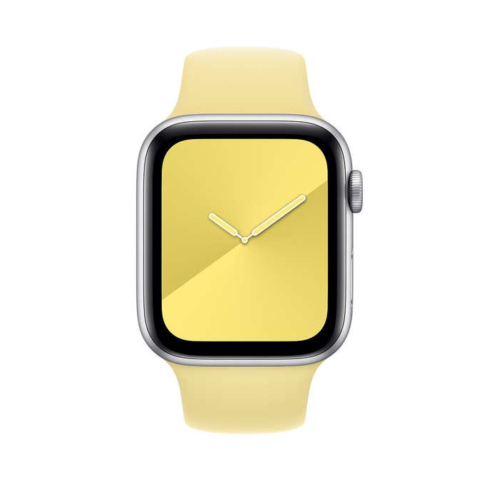 44mm Lemon Cream Sport Band