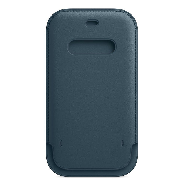iPhone 12 | 12 Pro Leather Sleeve with MagSafe - Baltic Blue