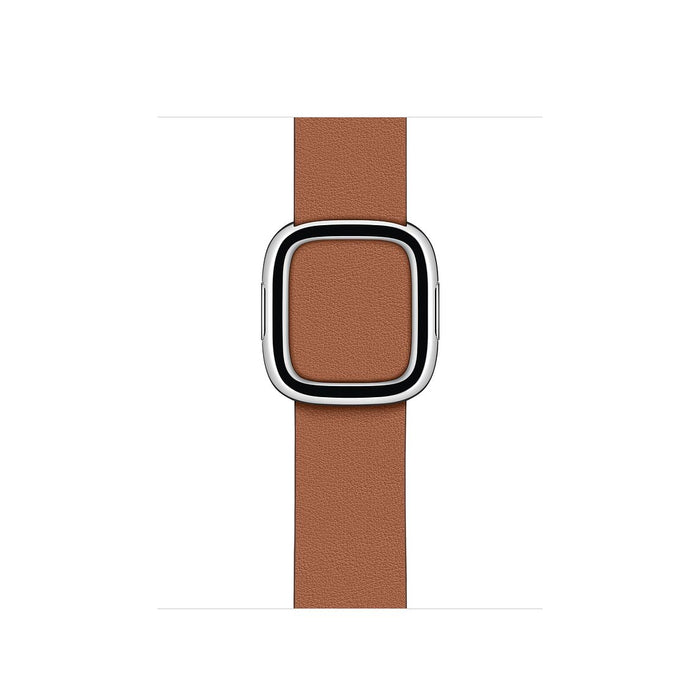 40mm Saddle Brown Modern Buckle
