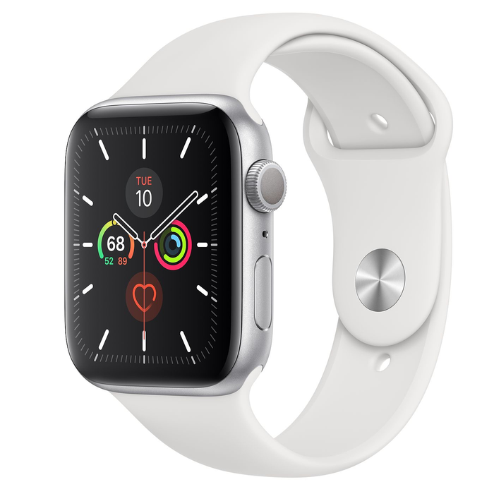 44mm White Sport Band