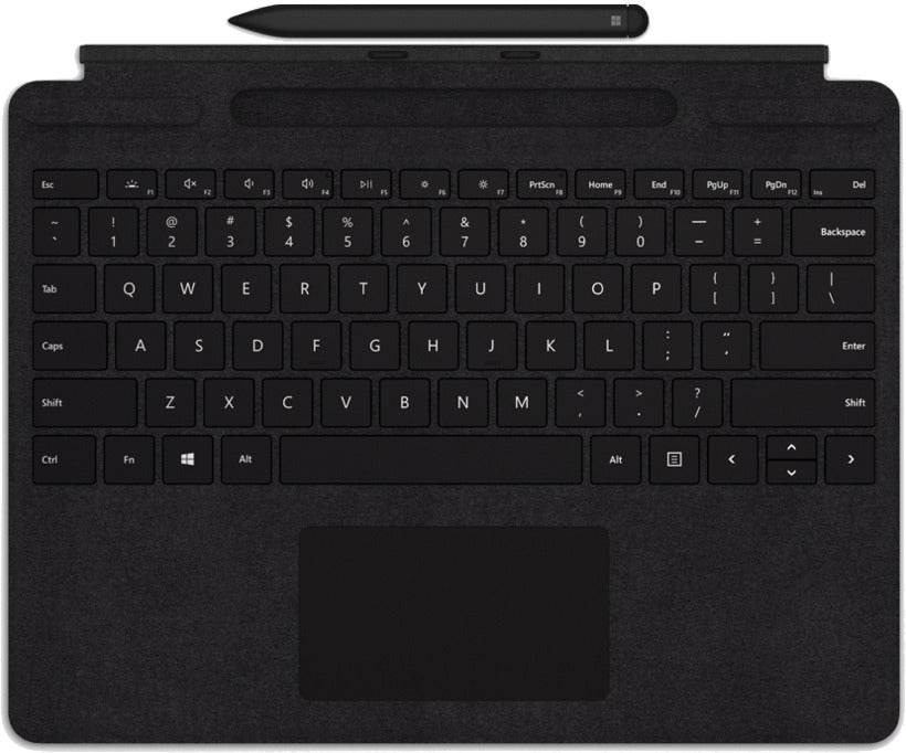 Microsoft Surface Pro X Keyboard Arabic + Slim Pen - Black