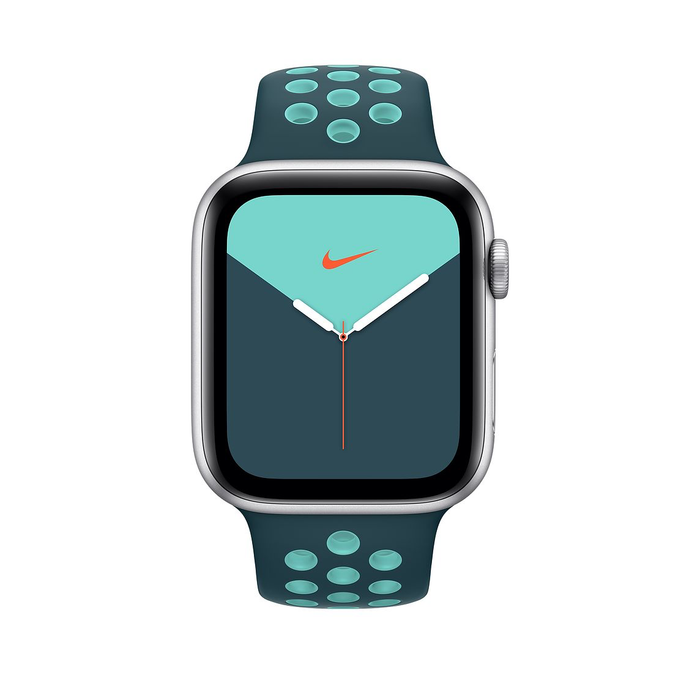 44mm Midnight Turquoise/Aurora Green Nike Sport Band