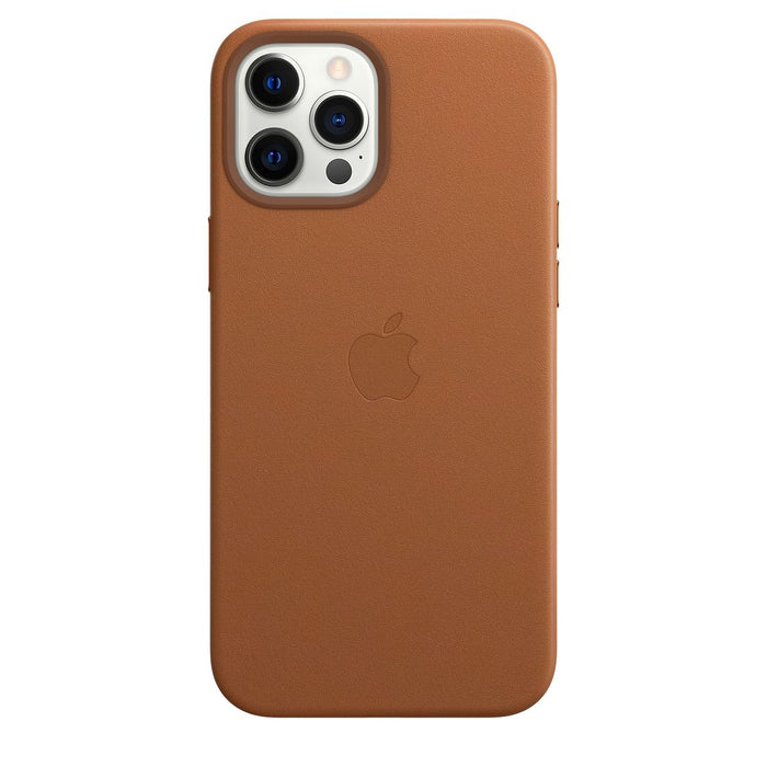 iPhone 12 Pro Max Leather Case with MagSafe - Saddle Brown