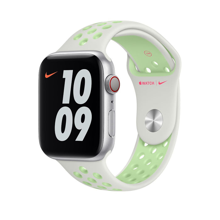 44mm Spruce Aura/Vapour Green Nike Sport Band