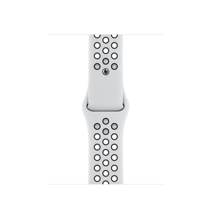 Apple Watch Nike S6 Silver Aluminum Case with Sport Band  - Pure Platinum/Black - 40mm