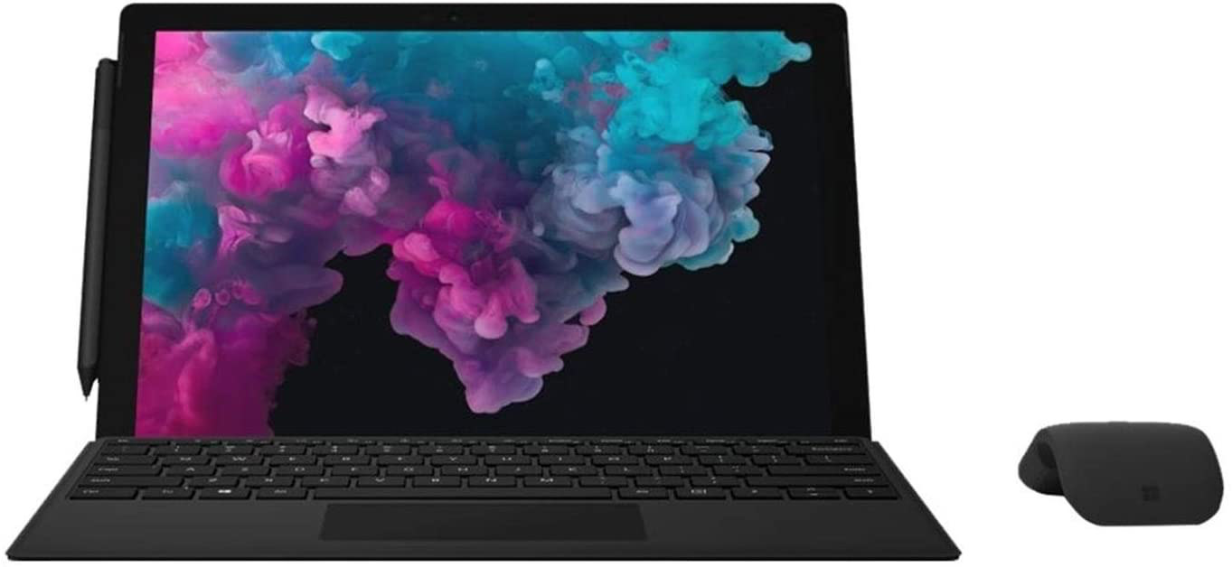 "Microsoft Surface Pro 6 / Intel i5 / 8GB RAM / 256GB SSD / 12.3"" touch display / Black"