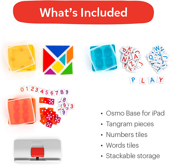 Osmo - Genius Starter Kit for iPad  لعبة تعليمية