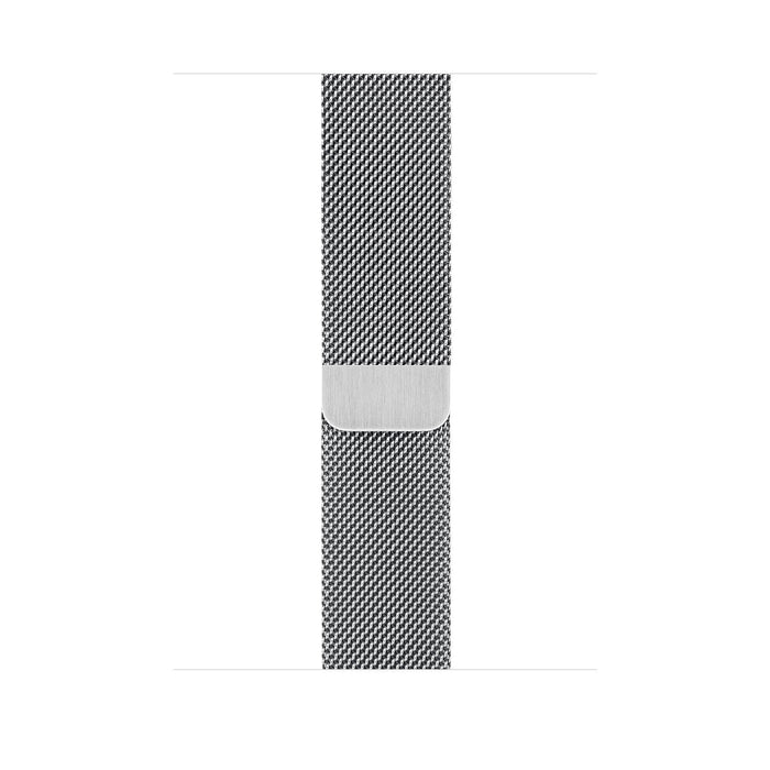 Apple Watch S5 Stainless Steel Case with Milanese Loop 40mm - مع شريحة⁩