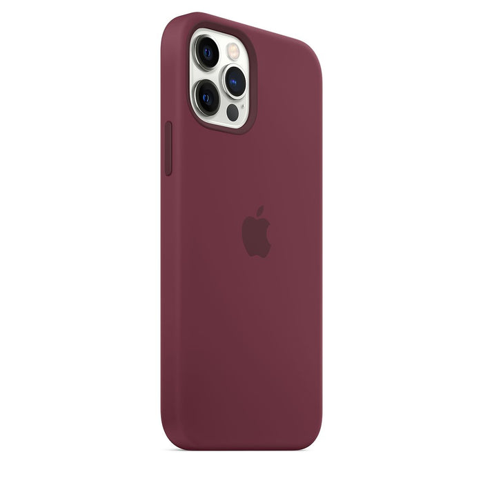 iPhone 12 | 12 Pro Silicone Case with MagSafe - Plum