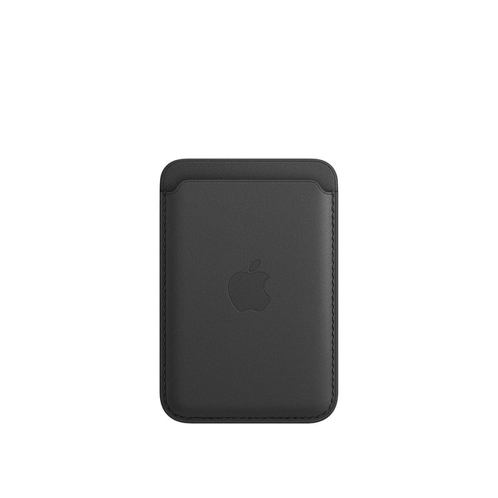 iPhone Leather Wallet with MagSafe - Black