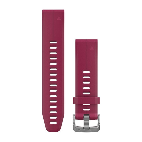 QuickFit 20 Watch Bands - Cerise Silicone