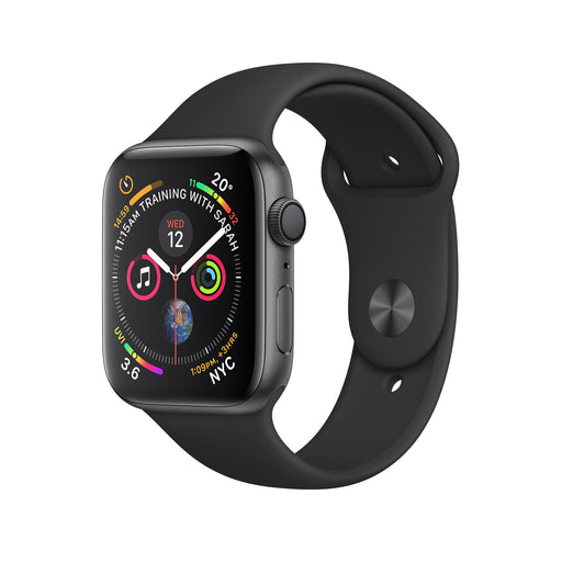 Apple Watch Space Gray Aluminum S5 Black Sport Band 44mm