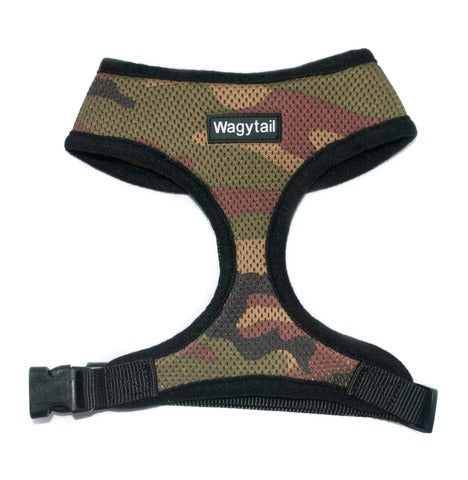 Wagytail Army Harness - Lucky Paws Boutique