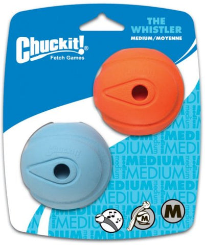 Chuck It -Whistler Ball (Two pack) - Lucky Paws Boutique