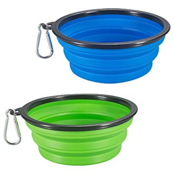 Pet Collapsible Travel Bowl - Lucky Paws Boutique